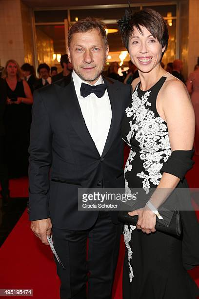 Richy Mueller and his partner Christl Stumhofer during the Leipzig Opera Ball 2015 on October 31 2015 in Leipzig Germany