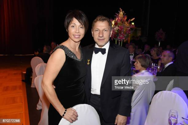 Richy Mueller and his wife Christl Mueller attend the Leipzig Opera Ball on November 4 2017 in Leipzig Germany