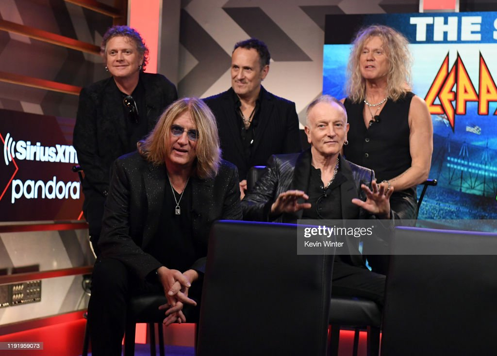 Press Conference With Mötley Crüe, Def Leppard And Poison Announcing 2020 Stadium Tour : News Photo
