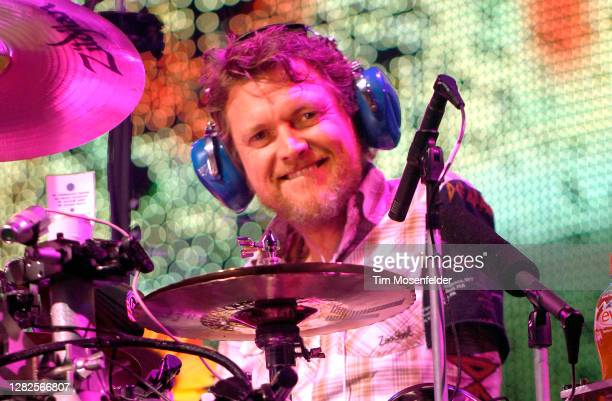 Rick Allen of Def Leppard performs at Sleep Train Pavilion on September 18, 2007 in Concord, California.