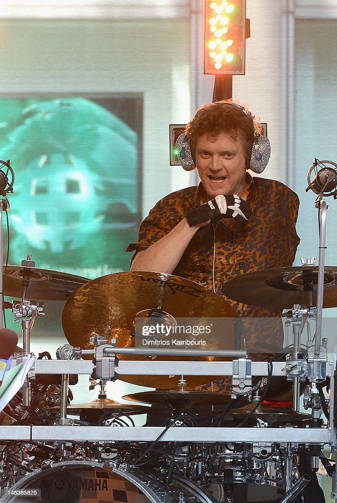 Rick Allen of Def Leppard performs during 'FOX & Friends' All American Concert Series at FOX Studios on June 15, 2012 in New York City.