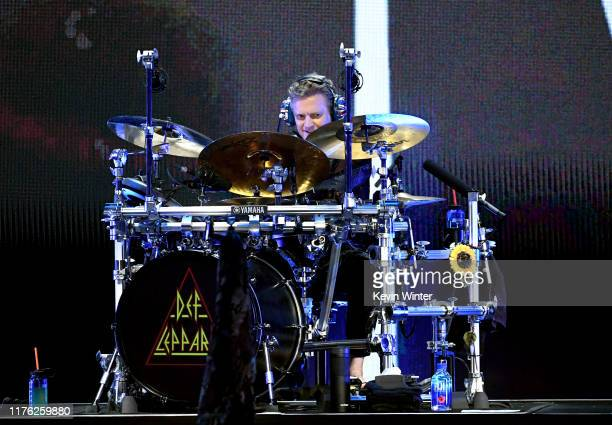 Rick Allen of Def Leppard performs onstage during the 2019 iHeartRadio Music Festival at T-Mobile Arena on September 21, 2019 in Las Vegas, Nevada.
