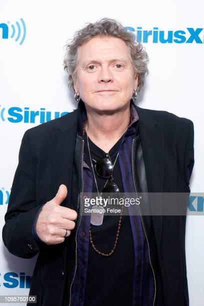 Rick Allen visits SiriusXM Studios on January 17 2019 in New York City
