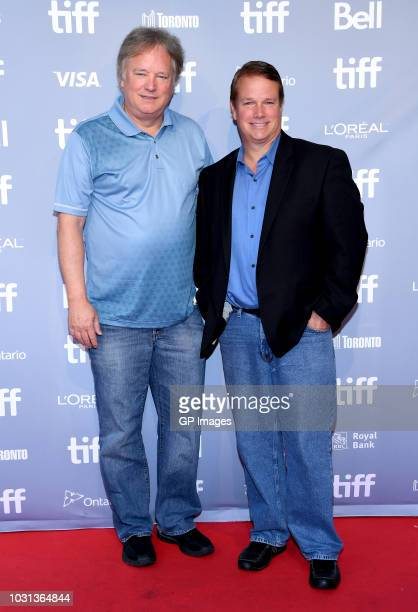 Rick Armstrong and Mark Armstrong attend the First Man press conference during 2018 Toronto International Film Festival at TIFF Bell Lightbox on...