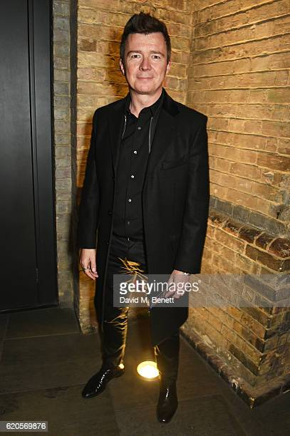 Rick Astley attends a drinks reception at The Stubhub Q Awards 2016 at The Roundhouse on November 2 2016 in London England