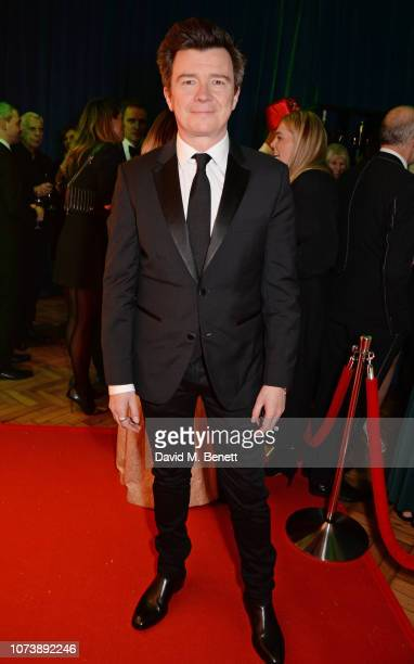 Rick Astley attends the 12th annual Emeralds Ivy Ball in aid of Cancer Research UK and The Marie Keating Foundation at The Royal Horticultural Halls...