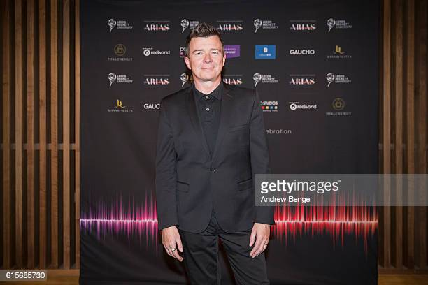 Rick Astley attends the Audio Radio Industry Awards at First Direct Arena Leeds on October 19 2016 in Leeds England