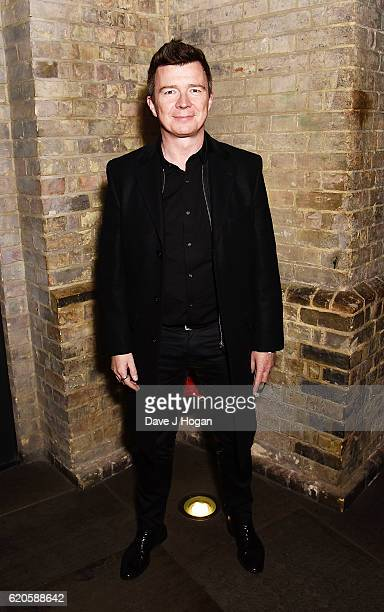 Rick Astley attends The Stubhub Q Awards 2016 at The Roundhouse on November 2 2016 in London England