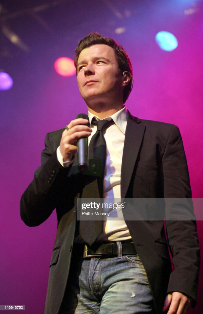 Rick Astley in Concert at the Olympia Theatre in Dublin - November 27, 2005