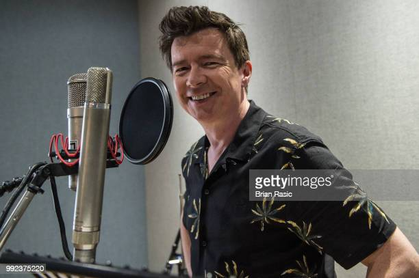 Rick Astley during the recordings of NHS Voices charity single 'With A Little Help From My Friends' at Abbey Road Studios June 13 2018 in London...