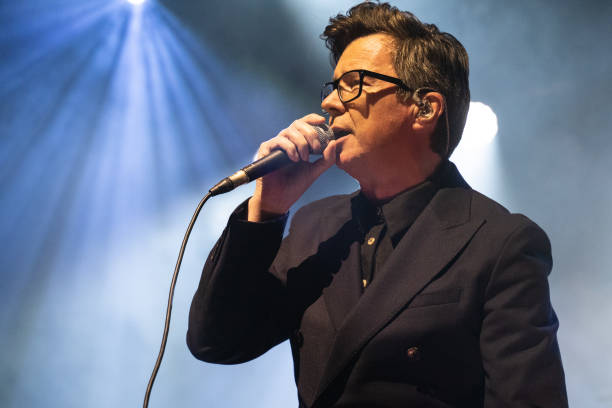 GBR: Rick Astley & Blossoms Perform The Songs Of The Smiths At O2 Forum Kentish Town, London