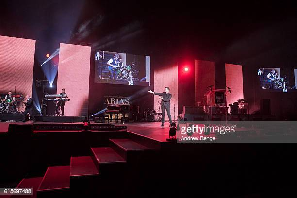 Rick Astley performs at the Audio Radio Industry Awards at First Direct Arena Leeds on October 19 2016 in Leeds England