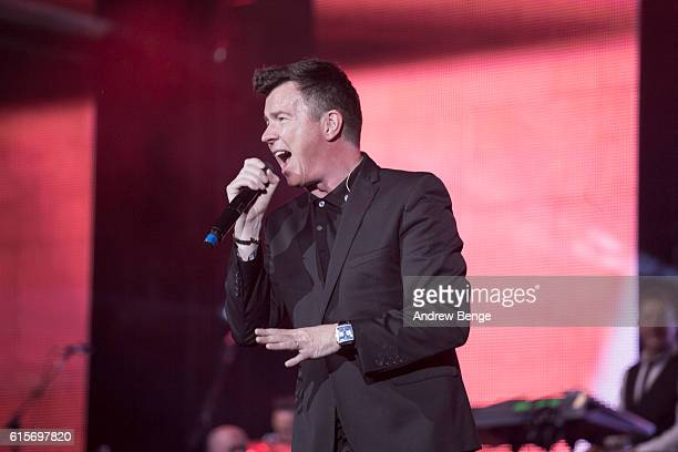 Rick Astley performs at the Audio & Radio Industry Awards at First Direct Arena Leeds on October 19, 2016 in Leeds, England.