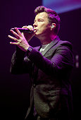 manchester england rick astley performs during