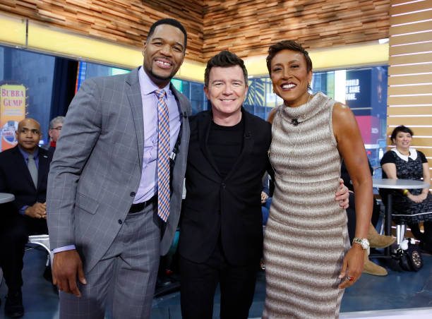 Good Morning America Los Angeles : Rick astley pictures getty images