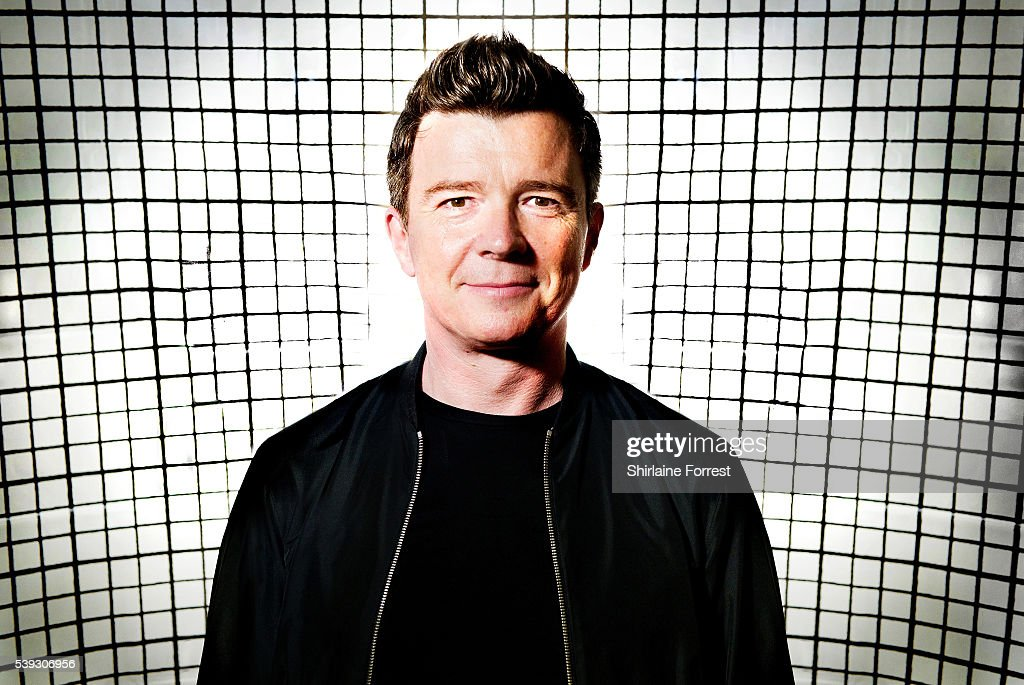 Rick Astley Performs Live And Signs Copies Of His New Album '50'
