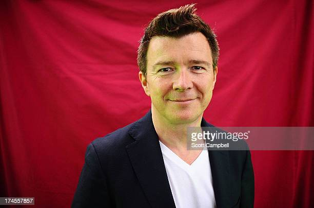 Rick Astley poses for portraits on Day 2 of Rewind 80s Festival 2013 at Scone Palace on July 27 2013 in Perth Scotland