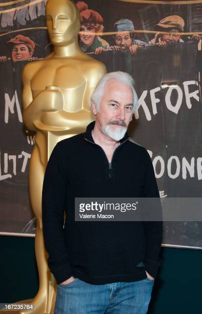 Rick Baker attends The Academy Of Motion Picture Arts And Sciences' VFX Convergence: Blending Makeup With Digital Arts In Film at Linwood Dunn...