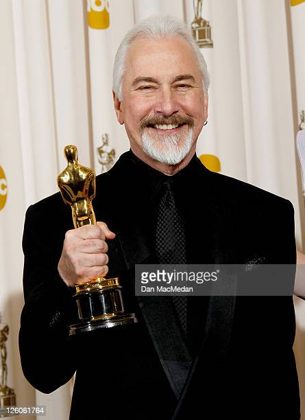 Rick Baker winner of the award for Best Makeup for 'The Wolfman'poses in the press room at the 83rd Annual Academy Awards held at the Kodak Theatre...