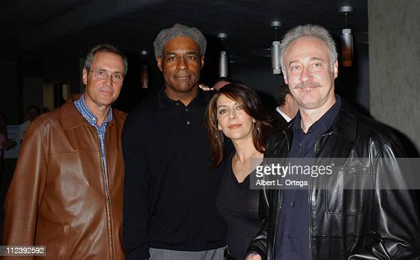Rick Berman, Michael Dorn, Marina Sirtis and Brent Spiner
