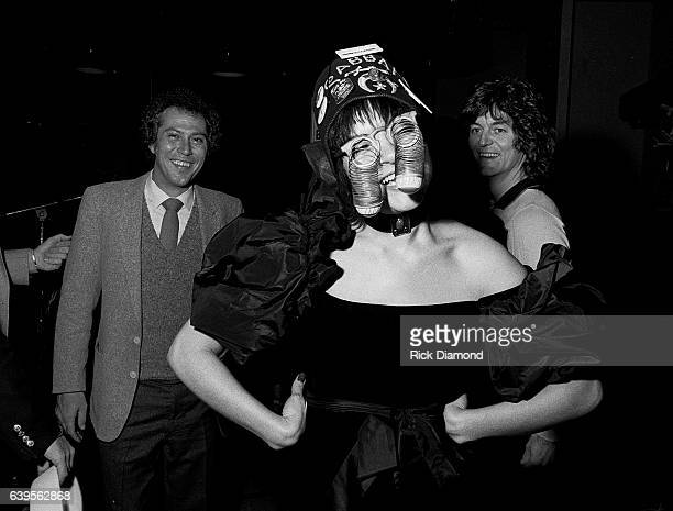 Rick Blackman Rosanne Cash and Rodney Crowell attend Rosanne Cash Album Release Party at Animal Crackers in Atlanta Georgia February 13 1981