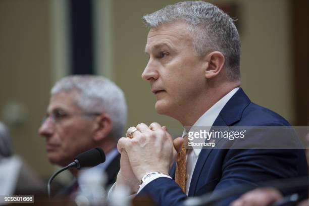 Rick Bright, deputy assistant secretary for preparedness and response for Health and Human Services , listens during a House Oversight and...