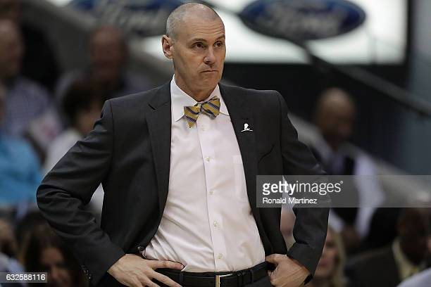 Rick Carlisle of the Dallas Mavericks at American Airlines Center on January 22 2017 in Dallas Texas NOTE TO USER User expressly acknowledges and...