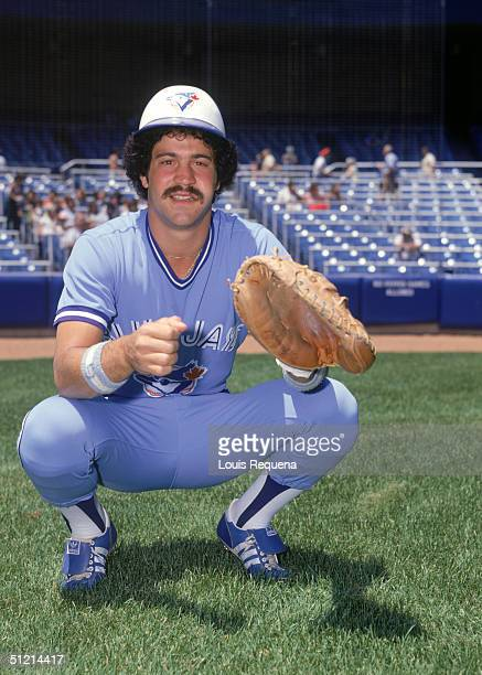 Rick Cerone of the Toronto Blue Jays poses for a portrait Rick Cerone played for the Toronto Blue Jays from 19771979