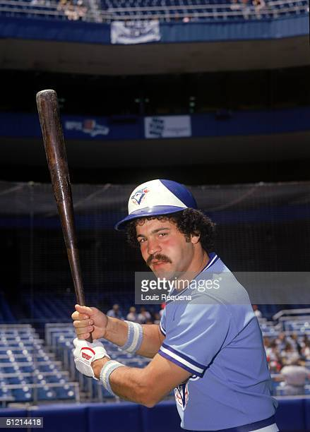 Rick Cerone of the Toronto Blue Jays poses for an action portrait Rick Cerone played for the Toronto Blue Jays from 19771979