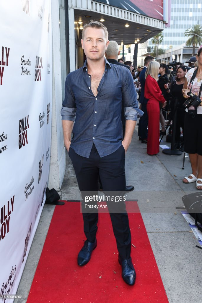 Rick Cosnett attends 'Billy Boy' Los Angeles premiere at Laemmle Music Hall on June 12, 2018 in Beverly Hills, California.