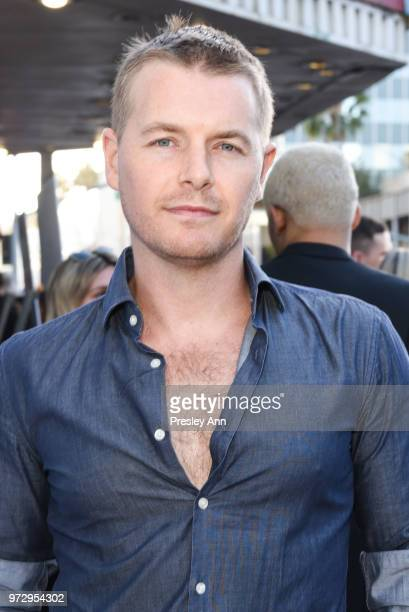 Rick Cosnett attends Billy Boy Los Angeles premiere at Laemmle Music Hall on June 12 2018 in Beverly Hills California