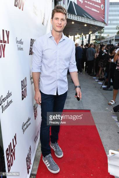 Rick Cosnett attends Billy Boy Los Angeles Premiere Red Carpet at Laemmle Music Hall on June 12 2018 in Beverly Hills California