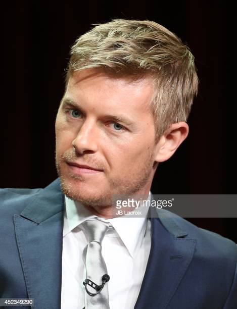 Rick Cosnett attends the 2014 Summer Television Critics Association at The Beverly Hilton Hotel on July 18 2014 in Beverly Hills California