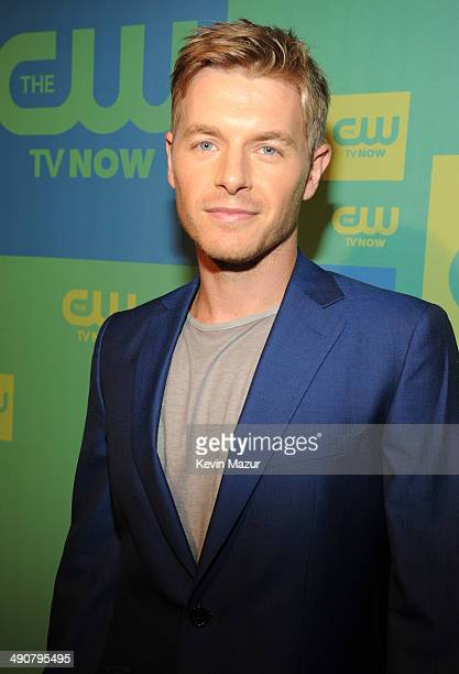 Rick Cosnett attends The CW Network's 2014 Upfront at The London Hotel on May 15 2014 in New York City