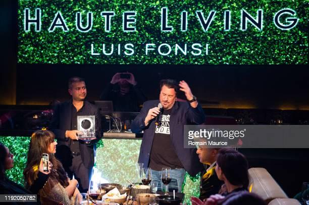Rick De La Croix Attends Haute Living Celebrates Luis Fonsi Cover Launch at El Tucán on December 4, 2019 in Miami, Florida.