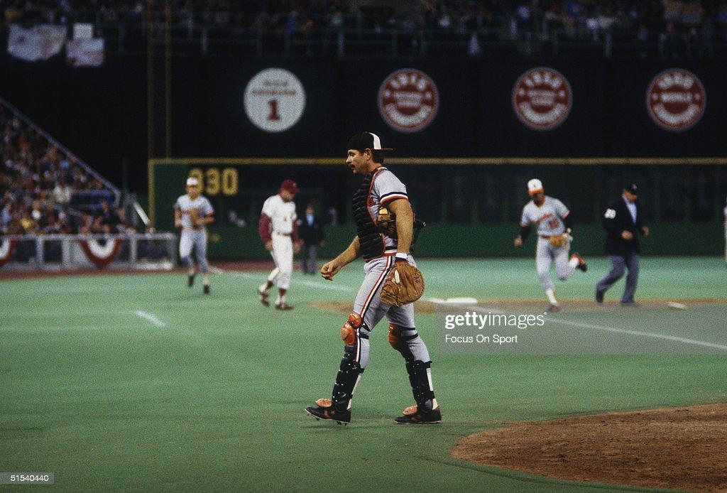 1983 World Series : News Photo