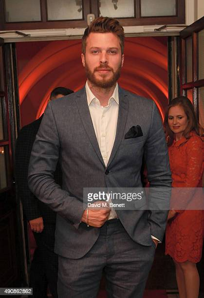 Rick Edwards attends a fundraising event in aid of the Nepal Youth Foundation hosted by David Walliams at Banqueting House on October 1 2015 in...