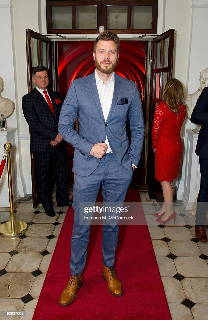 Rick Edwards attends a fundraising event in aid of the Nepal Youth Foundation at Banqueting House on October 1, 2015 in London, England.
