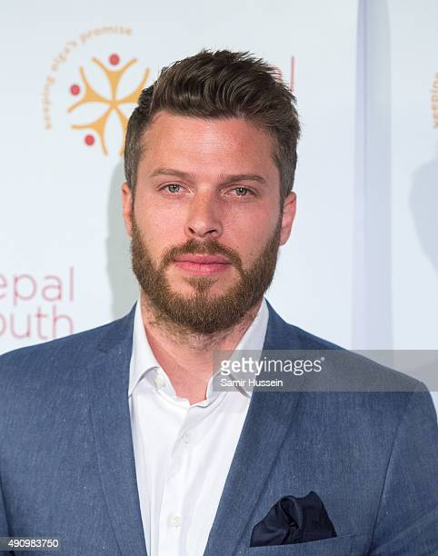 Rick Edwards attends a fundraising event in aid of the Nepal Youth Foundation at Banqueting House on October 1 2015 in London England