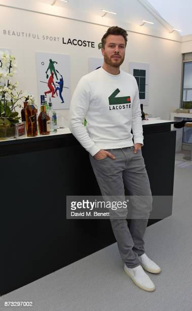 Rick Edwards attends Lacoste VIP Lounge during 2017 ATP World Tour at The O2 Arena on November 12 2017 in London England