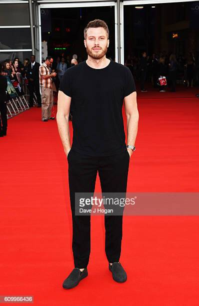 Rick Edwards attends the American Airlines Presents Empire Live double gala screening of 'Swiss Army Man' and 'Imperium' at The O2 Arena on September...