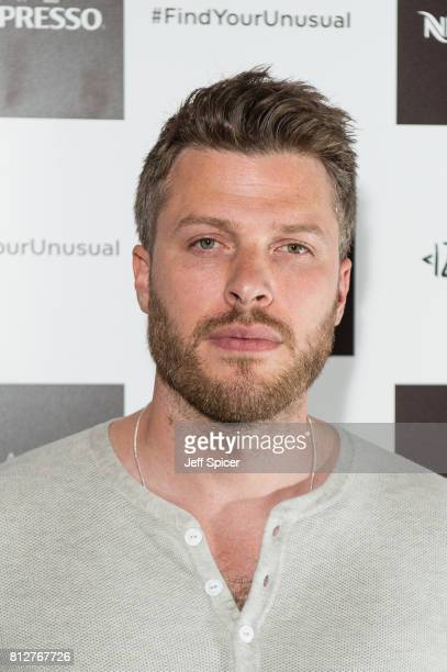 Rick Edwards attends the Cafe Nespresso Soho Launch Party at Cafe Nespresso on July 11 2017 in London England