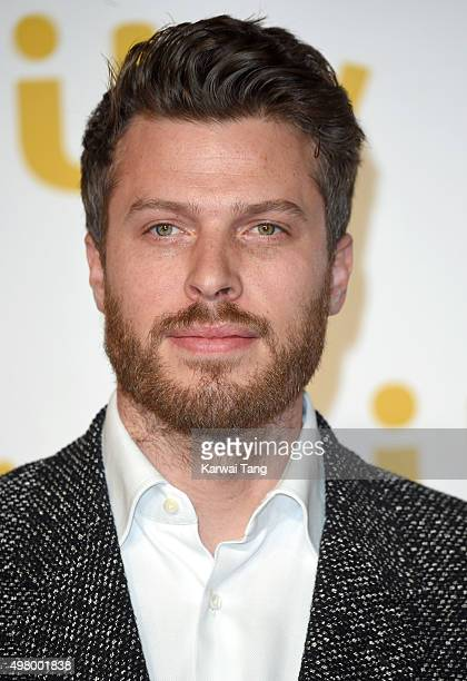 Rick Edwards attends the ITV Gala at London Palladium on November 19 2015 in London England