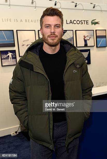 Rick Edwards attends the Lacoste VIP Lounge at ATP World Finals 2016 on November 18 2016 in London England