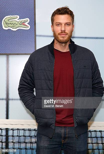 Rick Edwards attends the Lacoste VIP Lounge at the ATP World Finals 2014 at O2 Arena on November 16 2014 in London England