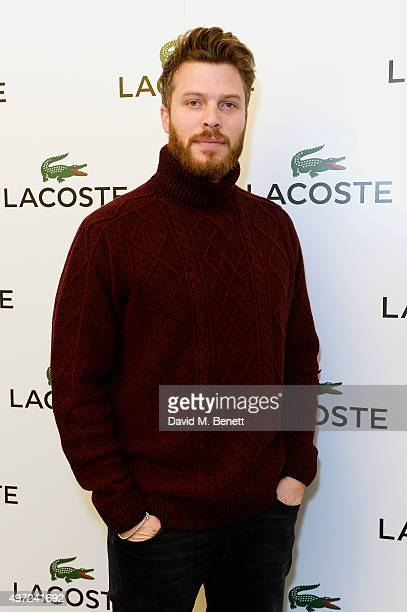 Rick Edwards attends the Lacoste VIP Lounge at the ATP World Finals 2015 at The O2 Arena on November 15 2015 in London England