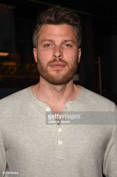 Rick Edwards attends the launch of the new Cafe Nespresso Soho on July 11 2017 in London England