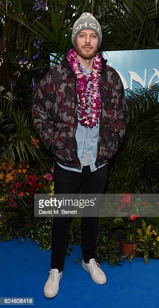 Rick Edwards attends the UK Gala screening of 'MOANA' at BAFTA on November 20 2016 in London England