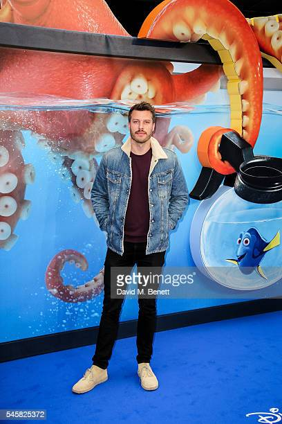 Rick Edwards attends the UK Premiere of 'Finding Dory' at the Odeon Leicester Square on July 10 2016 in London England