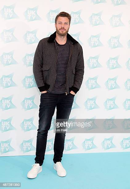 Rick Edwards attends the UKTV Live launch at Phillips Gallery on September 8 2015 in London England